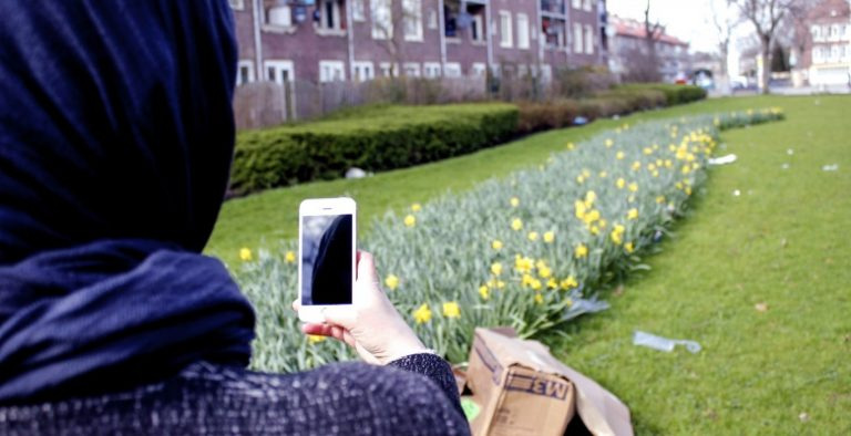 We explore how a mobile app can be used to map neighborhood features.